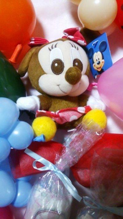 画像2: 出産祝いおむつケーキおむつキャンディードット柄