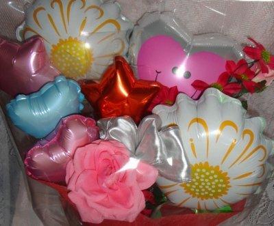 画像1: 母の日♪お祝いの花束タイプ【送料込】