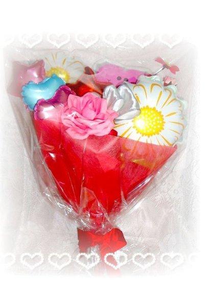 画像1: 母の日♪お祝いの花束タイプ【送料込】 (1)
