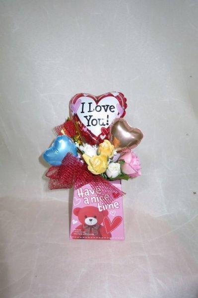 画像1: 春のプチアレンジギフト【母の日、卒業、バレンタイン】 (1)