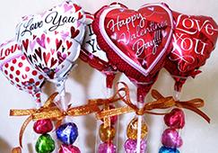 バレンタイン 小さなチョコのステック